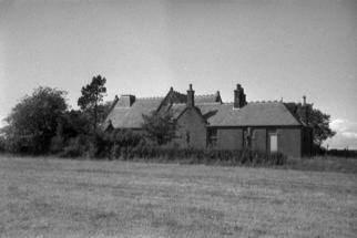 school building in a rural setting